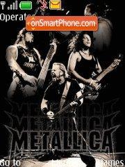 Metallica 13 theme screenshot