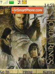 Lord Of The Ring 01 theme screenshot