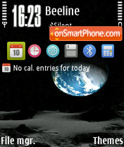 Earth 83 theme screenshot