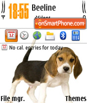 Beagles theme screenshot