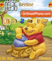 Pooh 19 es el tema de pantalla