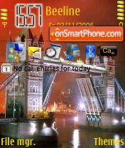 Tower Bridge theme screenshot