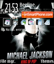 Michael jackson 07 theme screenshot