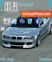 Скриншот темы BMW 3