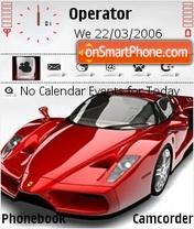 Ferrari enzo theme screenshot