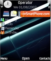 24 by Mihalych theme screenshot