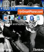 Offspring theme screenshot