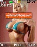 Hot Girls 01 theme screenshot