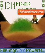 Garden Gnome es el tema de pantalla