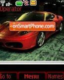 Ferrari Red 02 theme screenshot