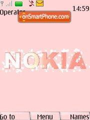 Nokia Pink 01 theme screenshot