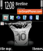 Zidane 02 theme screenshot