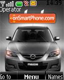SWF Mazda 3 animated theme screenshot