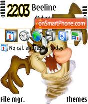 Taz1 theme screenshot