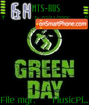 Green Day Logo theme screenshot