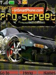 Nfs Pro Street 06 theme screenshot
