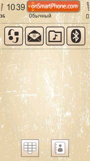 Old Style theme screenshot
