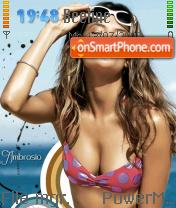Alessandra 01 es el tema de pantalla