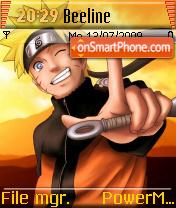 Blinkie Naruto theme screenshot