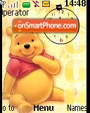 Winnie The Pooh2 SWF Theme-Screenshot