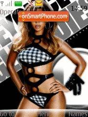 Скриншот темы Beyonce 02