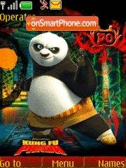 Скриншот темы Kung Fu Panda 05