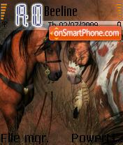 Horses 05 es el tema de pantalla