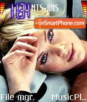 Charlize Theron 2 theme screenshot