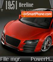 Скриншот темы Audi R8 15