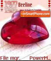 Red Heart 03 es el tema de pantalla