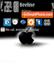 Apple Iphone 01 theme screenshot