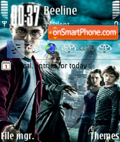 Capture d'écran Harry Potter 22 thème