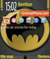 Скриншот темы Batman Logo