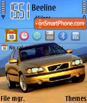 Скриншот темы Volvo