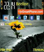 Alone 14 theme screenshot