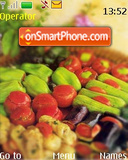 Vegetables tema screenshot