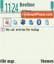 Chalk 01 theme screenshot