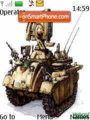 Скриншот темы RA2 tanks