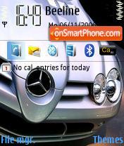 Mercedes SLR McLaren es el tema de pantalla