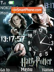 Harry Potter Clock theme screenshot
