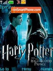 Harry Potter and the Half-Blood Prince theme screenshot