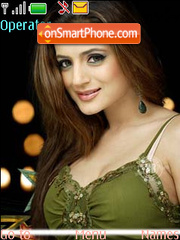 Amisha Patel theme screenshot