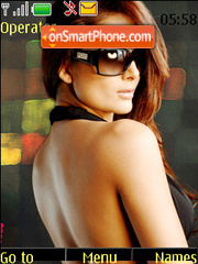 Amrita Arora theme screenshot