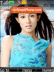 Amrita Rao theme screenshot