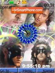 Hritik Roshan swf Clock es el tema de pantalla