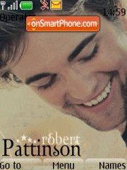 Скриншот темы Robert Pattinson