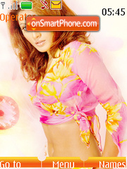 Rimi Sen theme screenshot