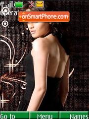 Sneha Ullal theme screenshot