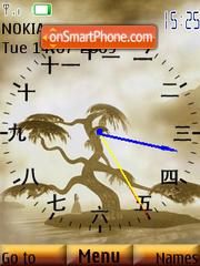 Chinese Clock theme screenshot
