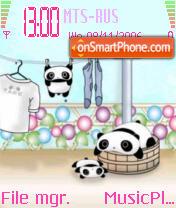Tare Panda es el tema de pantalla